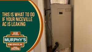 This is What to Do if Your Niceville AC is Leaking